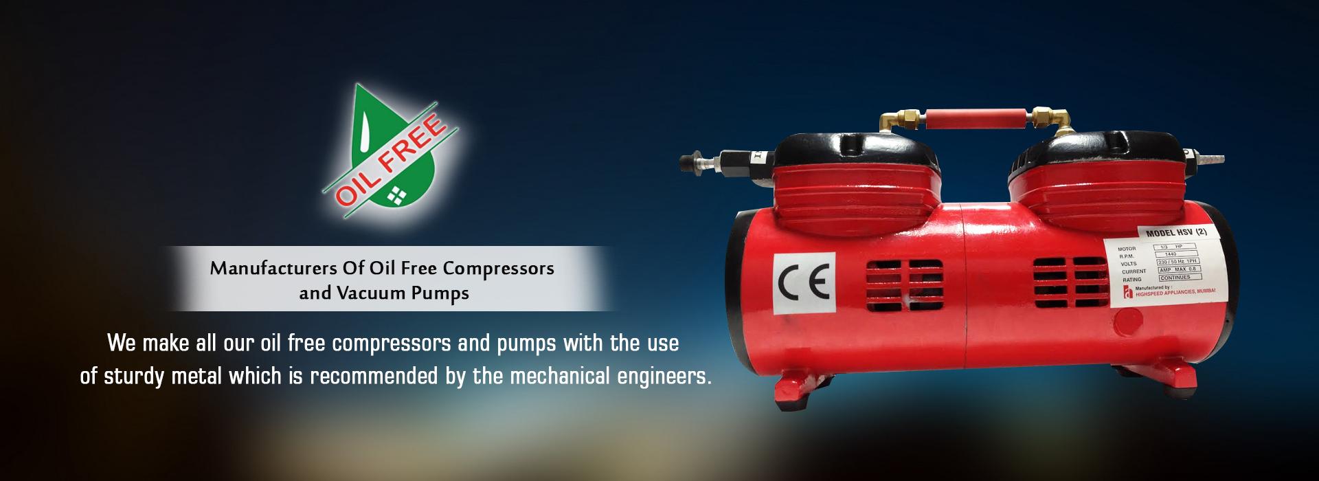 High Speed Appliances, Compressors, Vacuum Pump, Diaphragm